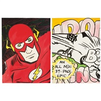 untitled (the flash) & untitled (2) by crash