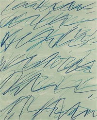 roman notes i (from roman notes) by cy twombly