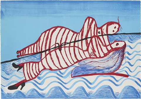 hamlet and ophelia by louise bourgeois