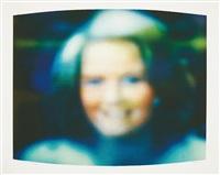 untitled newswoman: diane sawyer by robert heinecken