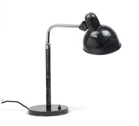 kaiser-idell desk light, model no. 6606 by christian dell