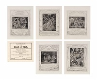 illustrations of the book of job (set of 21) by william blake