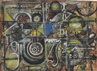 dream semblance by richard pousette-dart