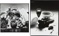 still life (2 works) by irving penn