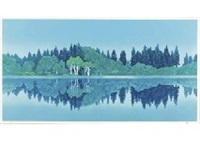 calm reflection by shinkichi (kaii) higashiyama