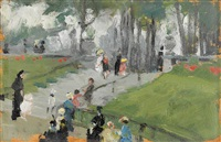 park in paris by martha walter