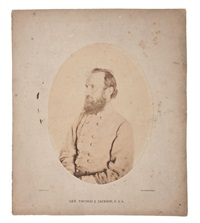 general thomas j. stonewall jackson by mathew b. brady