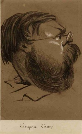 auguste lireux (+ 2 others; 3 works) by nadar