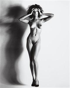big nude xv raquel nice by helmut newton