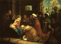 the adoration of the magi by pieter abrahamsz ykens