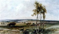 an extensive summer landscape by cecil gordon lawson