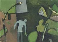 garden by keith vaughan