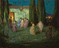 le soir by richard edward miller