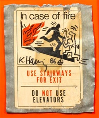 in case of fire by keith haring