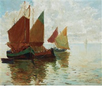 venice boats by anthony thieme