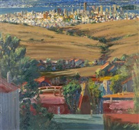 view of downtown san francisco by larry cohen