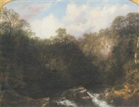 landscape with river by thomas doughty