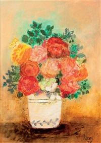 rosas rojas by maría antonia dans