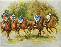 the mile start - goodwood by sarah aspinall