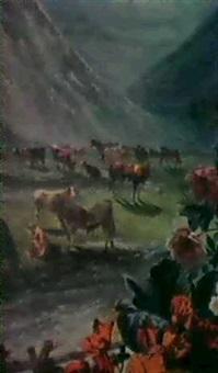 troupeau dans les alpages by vagh-weinmann