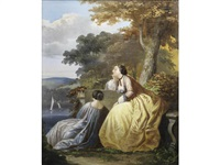 elegant ladies by florent willems