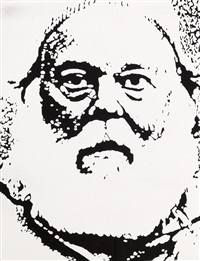 portrait of henry geldzahler by ellsworth kelly