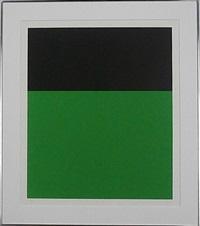 black/green ii by ellsworth kelly