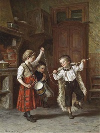 dancing bears by théophile emmanuel duverger