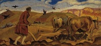 ploughing by agenor asteriadis