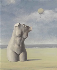 quand l'heure sonnera by rené magritte