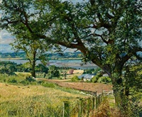 the tay estuary from balmerino by james mcintosh patrick