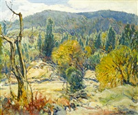 autumn in the mountains by charles reiffel