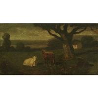 pastoral landscape by albert pinkham ryder