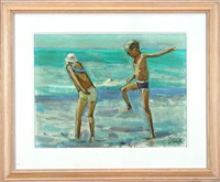 bathers by shirl goedike