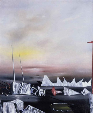 je me faisais semblant i was pretending to myself by yves tanguy