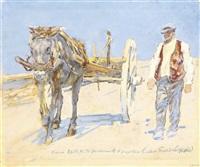 la charrue by erich wolfsfeld