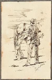 il soldato by giovanni fattori