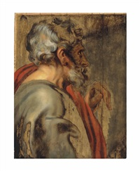 saint simon - unfinished by sir anthony van dyck
