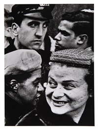 4 heads, new york by william klein