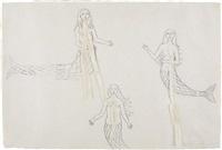 untitled (mermaids) by kiki smith