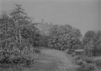 in the grounds of warwick castle by alfred robert quinton