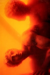 hercules punishing diomedes, i & ii by andres serrano
