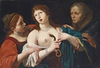 the death of cleopatra by lionello spada