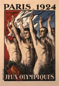 1924 paris olympics by jean droit
