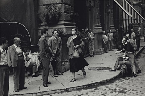 american girl in italy florence by ruth orkin