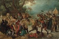 the battle between winter and summer by david vinckboons