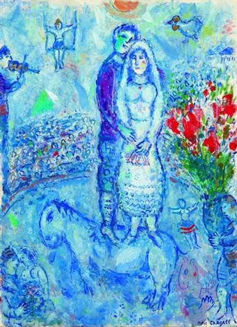 Les Maries du cirque par Marc Chagall sur artnet