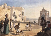 views of malta by arthur abbott