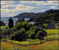 looking towards murray bay, pq by randolph stanley hewton