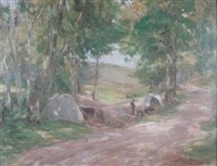 roadside camp by harry macgregor